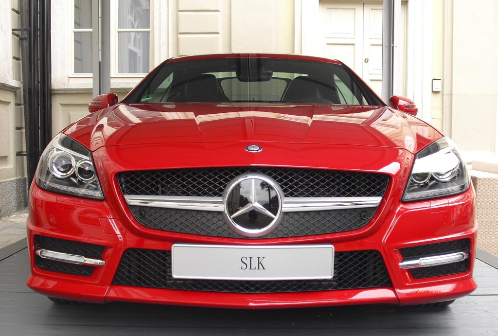 Begeisterungsfaktor Mercedes-Roadster SLK.
