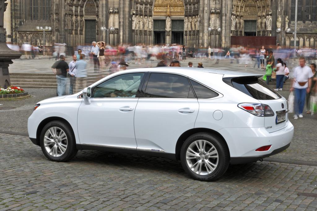 Bislang ist der RX das einzige SUV-Modell im Programm der Japaner