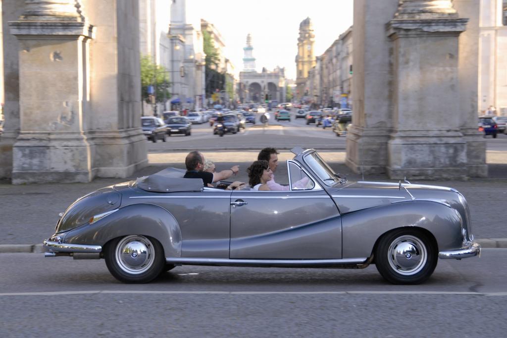 Das 502 Cabrio in München