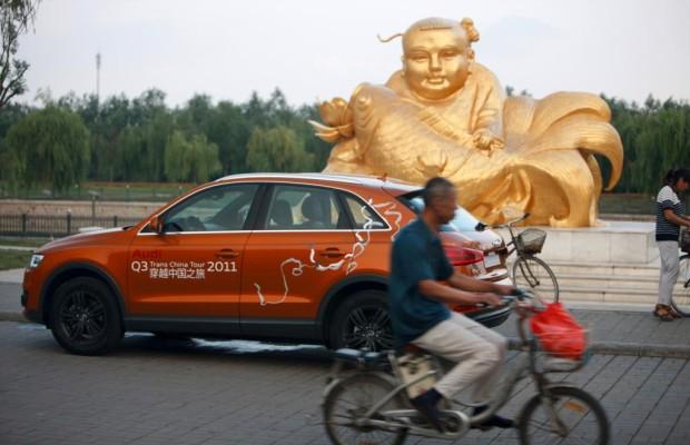 Das tägliche Chaos - Im Audi Q3 von Peking nach Schanghai