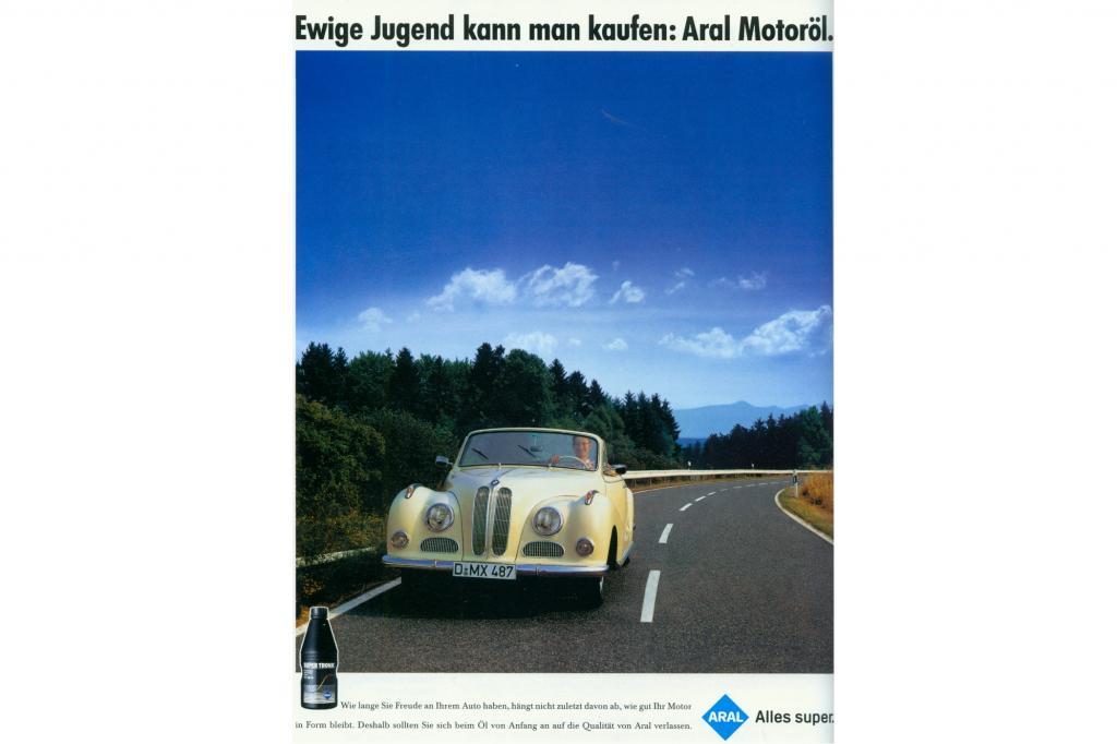 Der BMW in der Aral-Werbung
