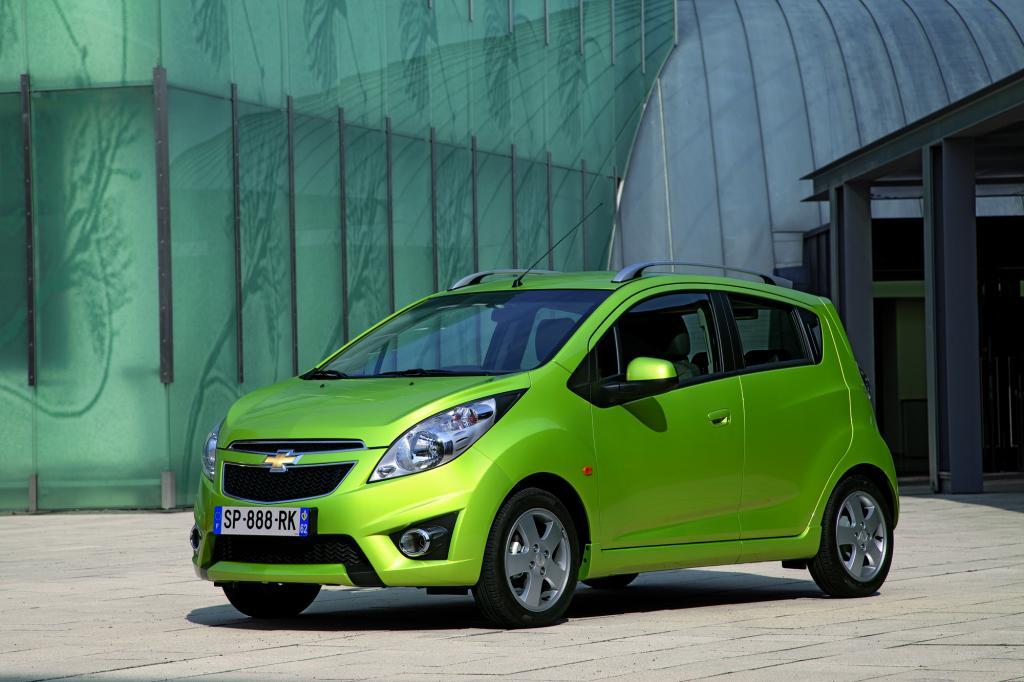 Der Chevrolet Spark setzt auch aggressives Design