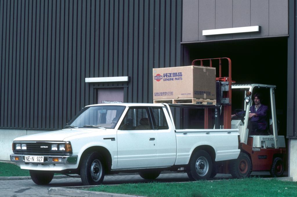 Der Datsun Pick-up von 1981