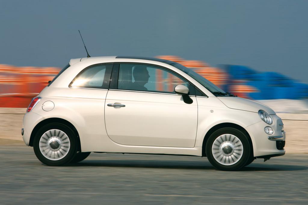 Der Fiat 500 ist die schicke Alternative zum Panda