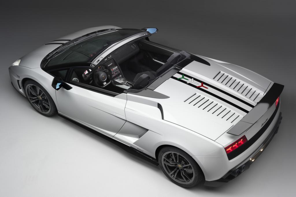 Der Lamborghini Gallardo LP 570-4 Spyder Performante ist das offene, leichtgewichtige Pendant zur geschlossenen Version
