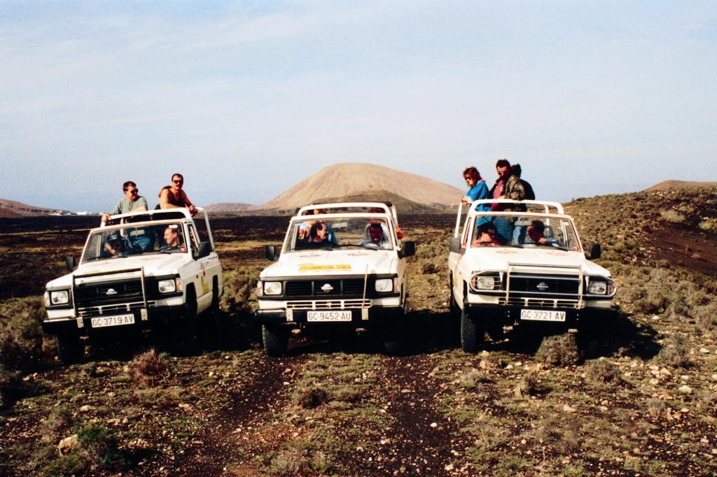 Der Nissan Patrol 1988 auf weiter Flur