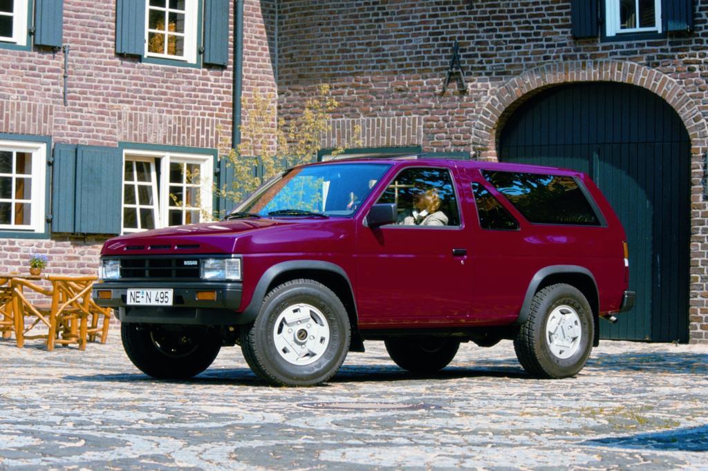Der Nissan Terrano von 1992
