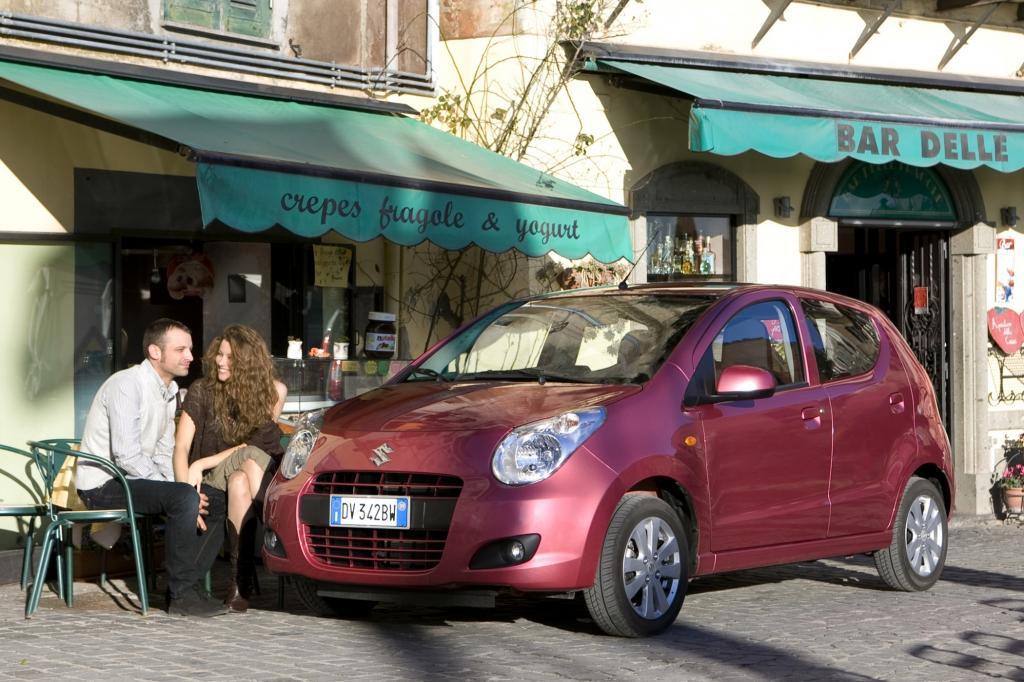 Der Suzuki Alto gehört zu den preisgünstigsten Modellen auf dem deutschen Markt