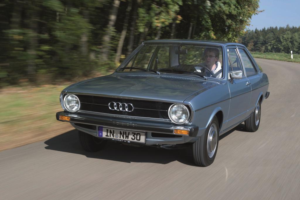 Der erste richtige Audi 80 startete 1972