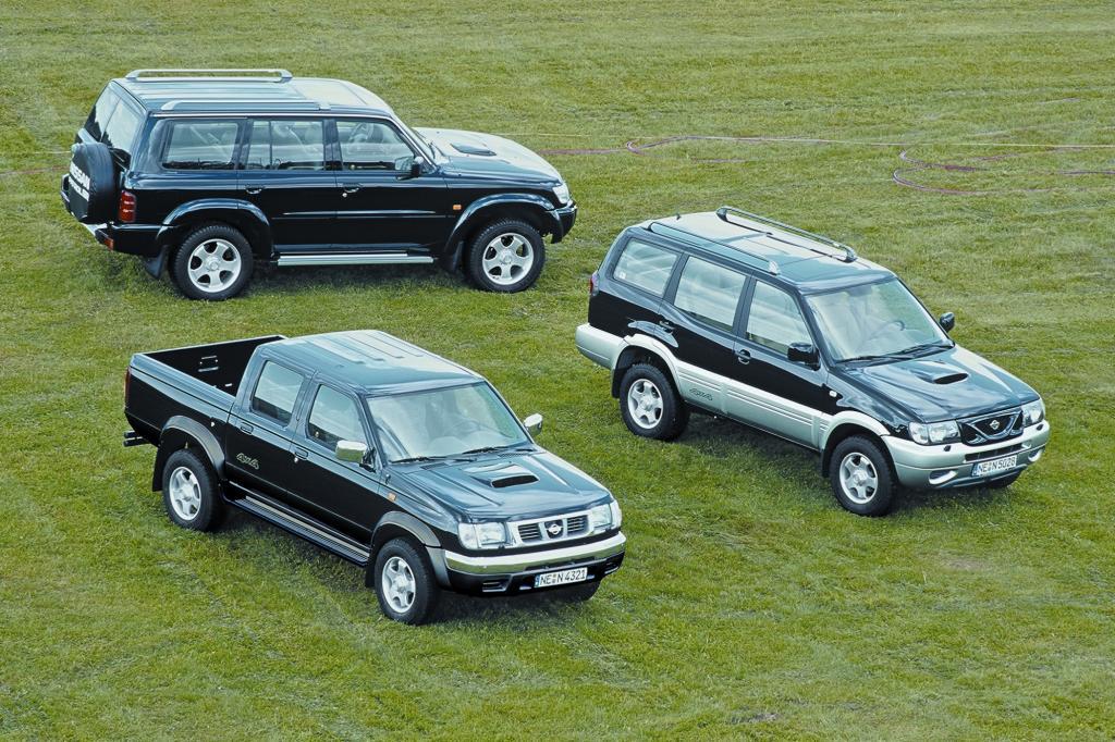 Die Nissan-Allradpalette 2001