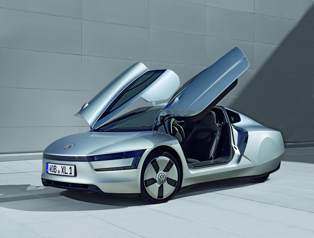 Die Volkswagen-Studie XL1 gibt es ab Ende 2011 im Maßstab 1:43 und auf 1000 Stück limitiert.