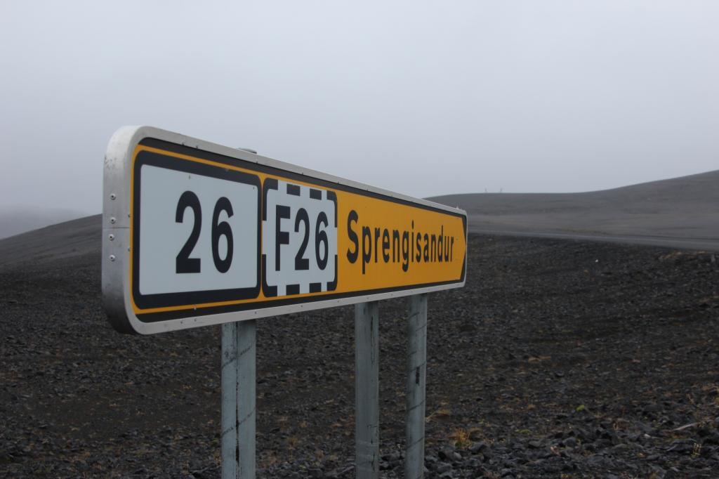 Die isländische F26 sieht nur auf der Karte harmlos aus
