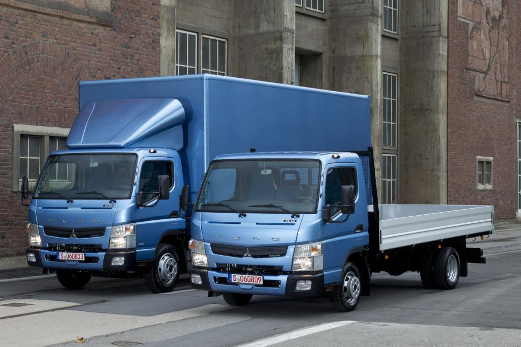 Die leichten Frontlenker-Lkw treten in drei Gewichtsklassen (3,5 t; 6,0 t; 7,5 t) an und kommen den Kunden mit bis zu fünf Radständen entgegen.