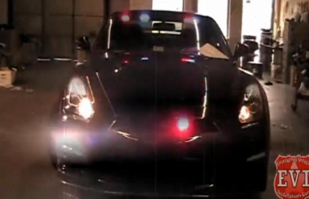 Dieses Undercover Polizeiauto ist kein Filmauto!