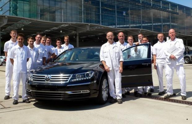 Dresden als Teststrecke für jeden neuen VW Phaeton