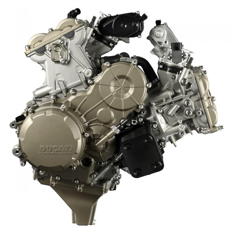 Ducati verrät Details zum neuen Modell Panigale 1199 nur scheibchenweise. Der neue Motor mit zwei Zylindern im Winkel von 90 Grad wird 195 PS leisten.