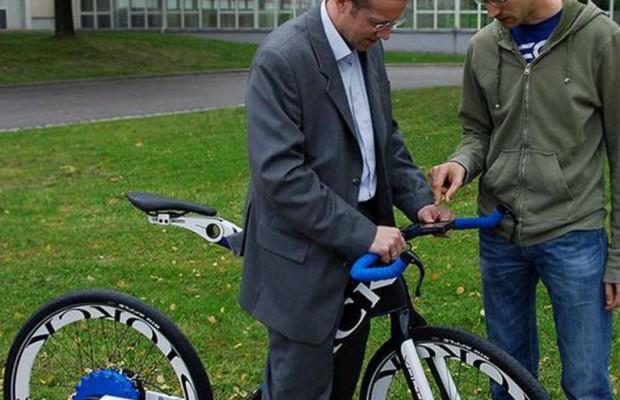 E-Antrieb in Fahrrad gut versteckt