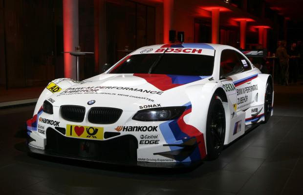 Ein erster Blick auf die BMW M3 für die DTM 2012