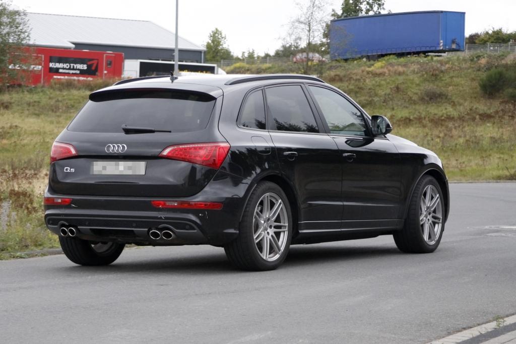 Erwischt: Erlkönig Audi Q5S
