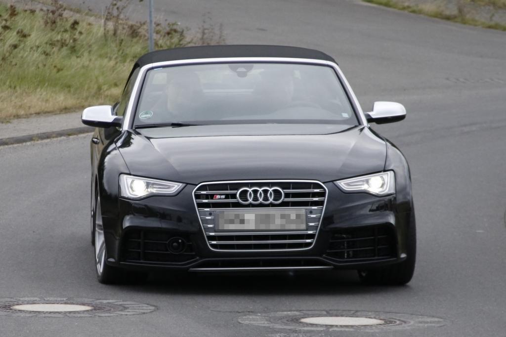 Erwischt: Erlkönig Audi RS5 Cabrio