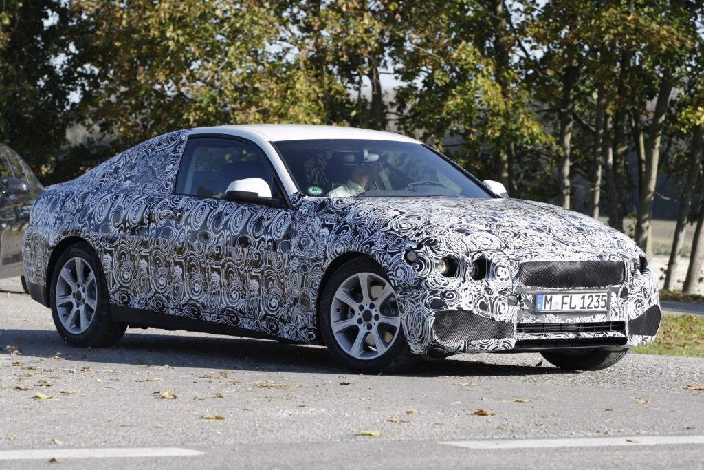 Erwischt Erlkönig BMW 4er: Nummer Höher, liegt tiefer