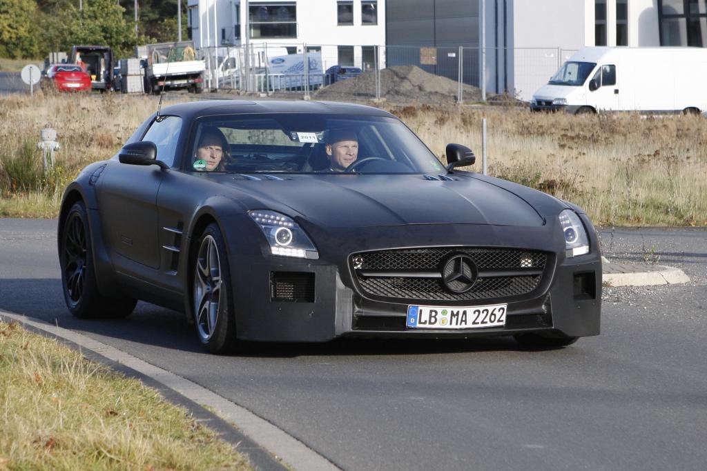 Erwischt: Erlkönig Mercedes SLS AMG Black Series