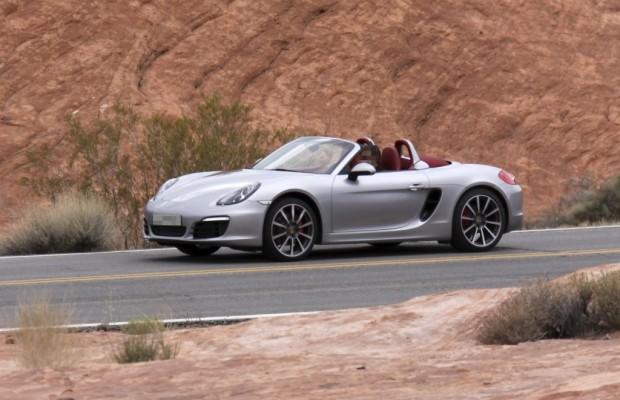 Erwischt: Erlkönig Porsche Boxster - Nackt durch die Wüste