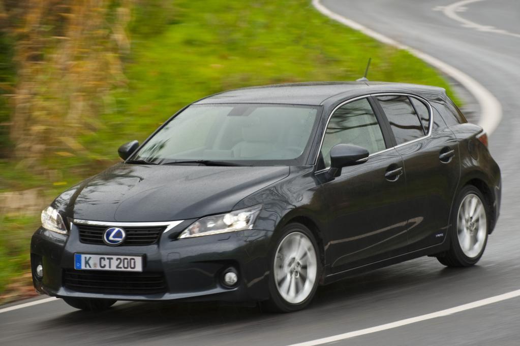 Fahrbericht Lexus CT 200h: Grünes Gewissen sucht Fahrer