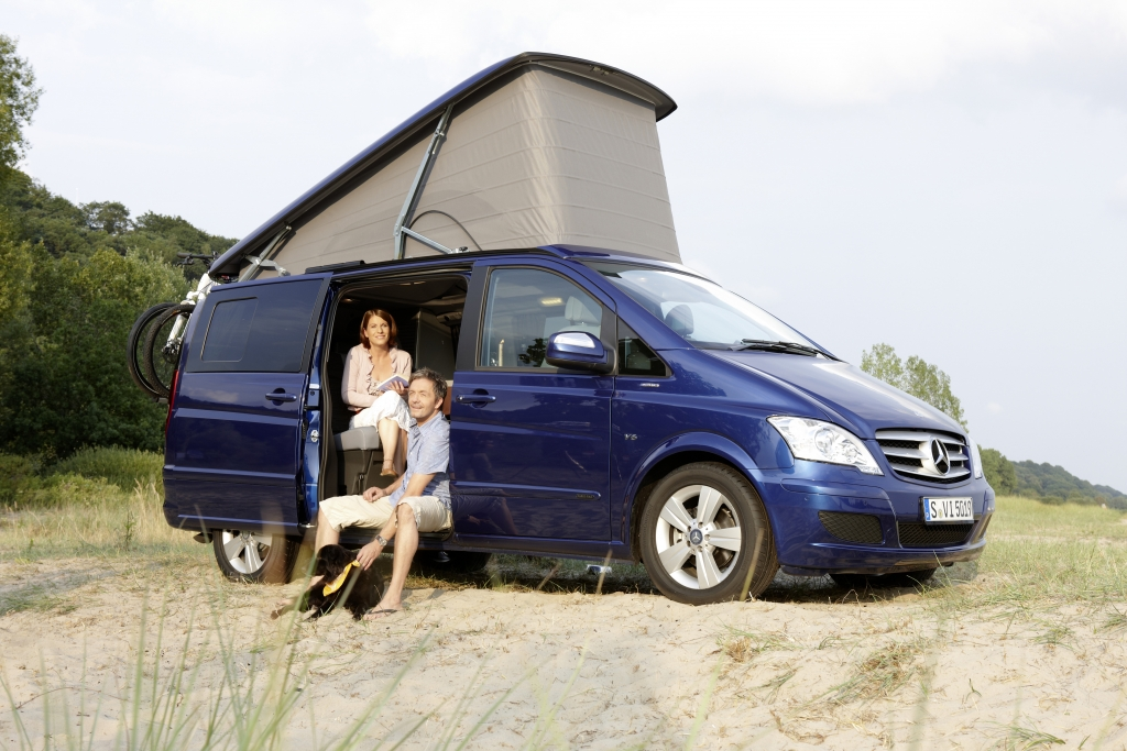 Fahrbericht Mercedes-Benz Viano Marco Polo: Reisen mit Stern