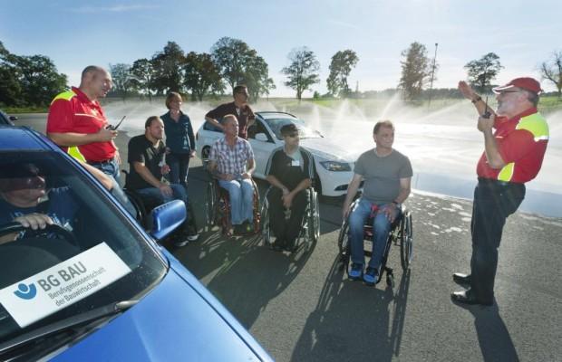 Fahrtraining für Behinderte