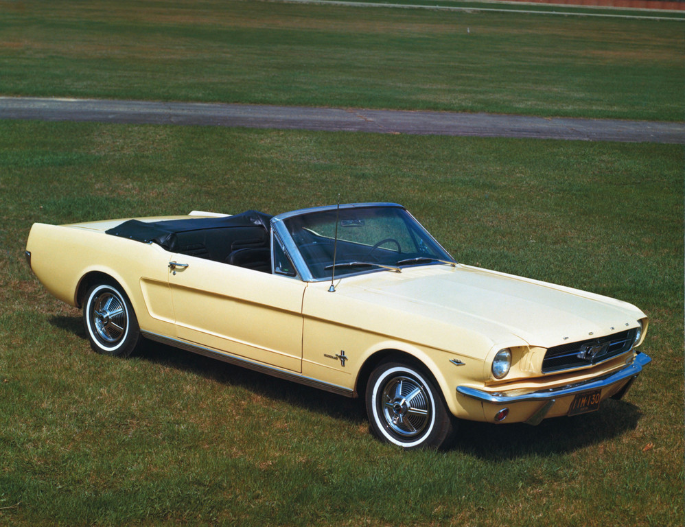 Ford Mustang Covertible von 1965.
