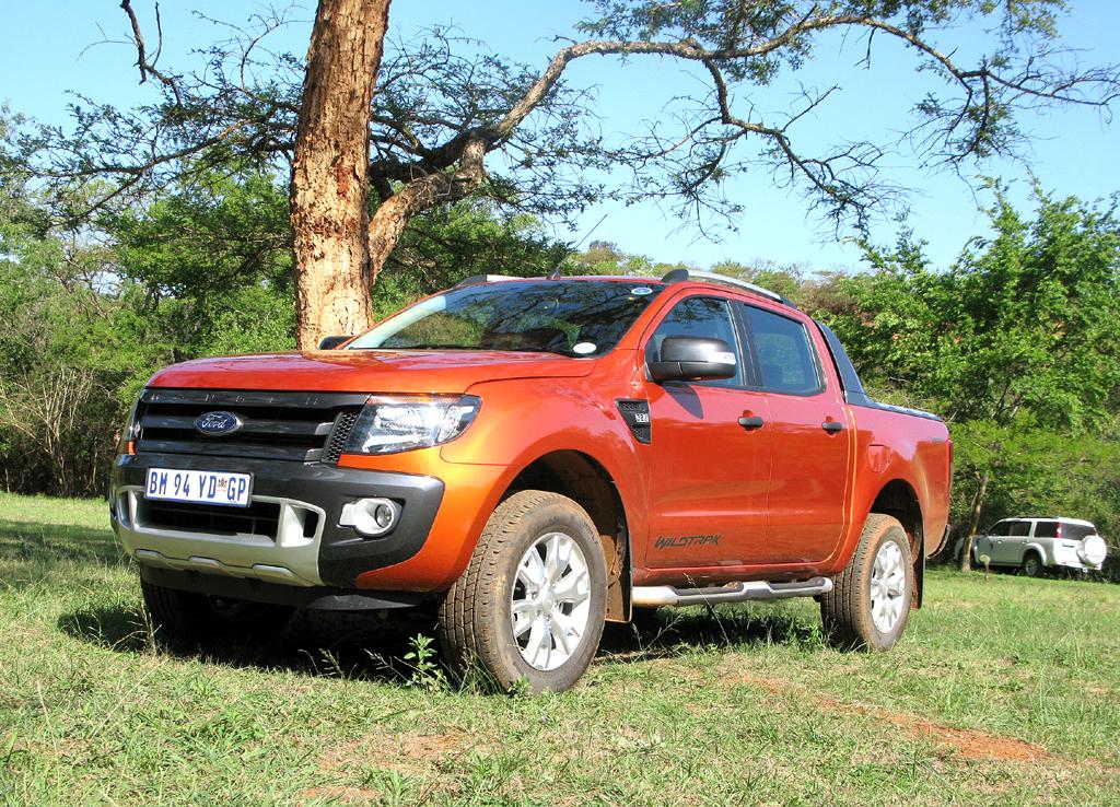 Ford Ranger: Der Pickup läuft für europäische Märkte in Südafrika vom Band.