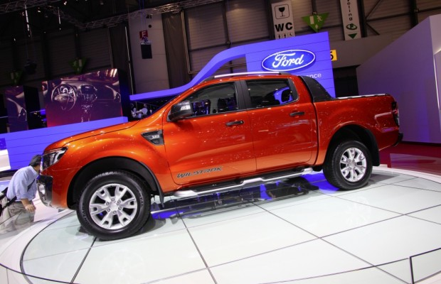 Ford Ranger erster Pick-up mit fünf EuroNCAP-Sternen