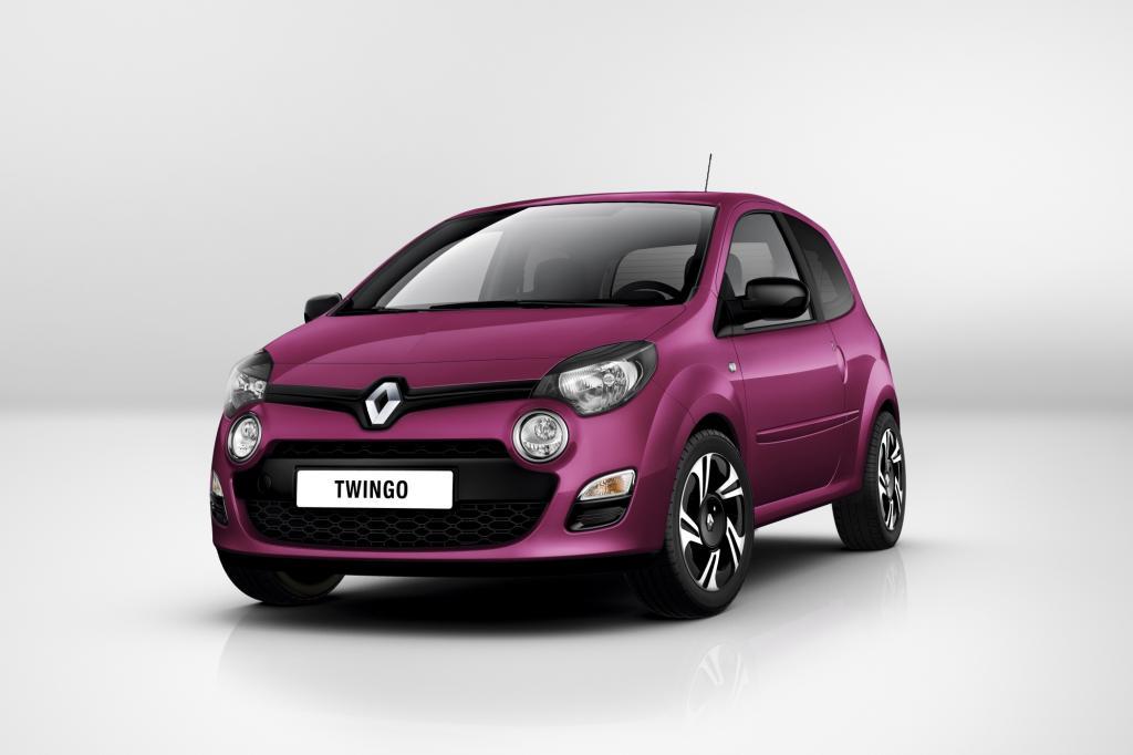 Frisch geliftet will der Renault Twingo dem VW Up Konkurrenz machen