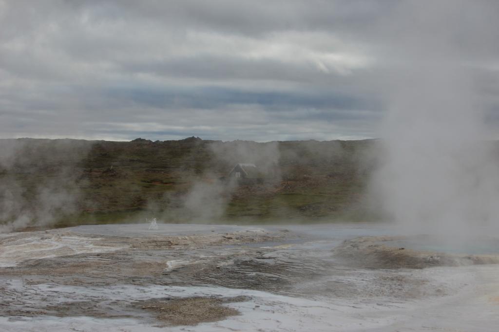 Geysire sind in Island keine Seltenheit