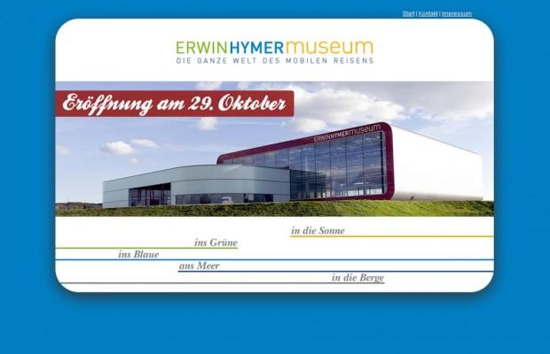 Hymer-Caravan-Museum: Eröffnung am 29. Oktober
