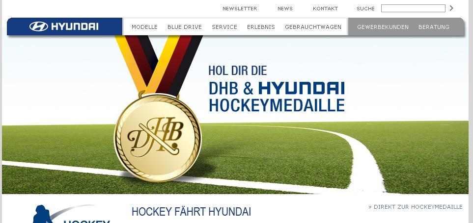 Hyundai startet Hockey-Vereinskonzept