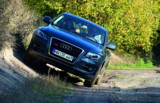 Im Audi durchs Gelände
