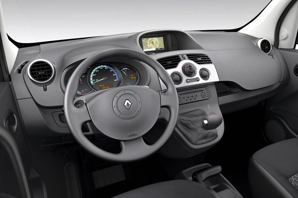 Im Innenraum des E-Transporters soll es keine Abstriche in Sachen Komfort und Ergonomie geben.