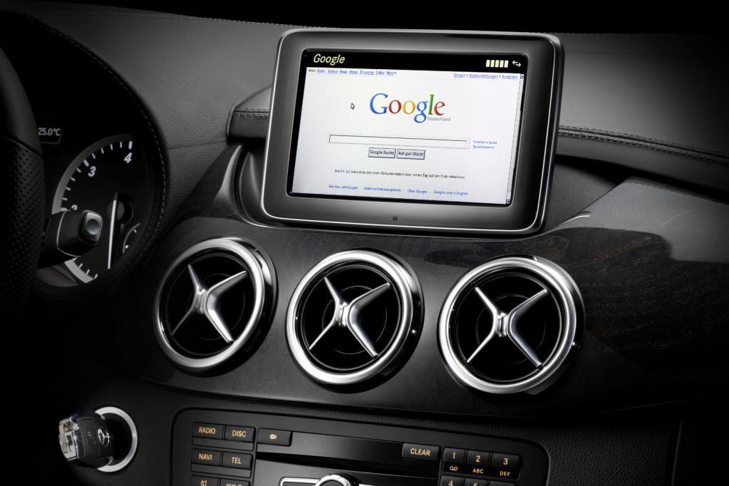 Immer online im Mercedes