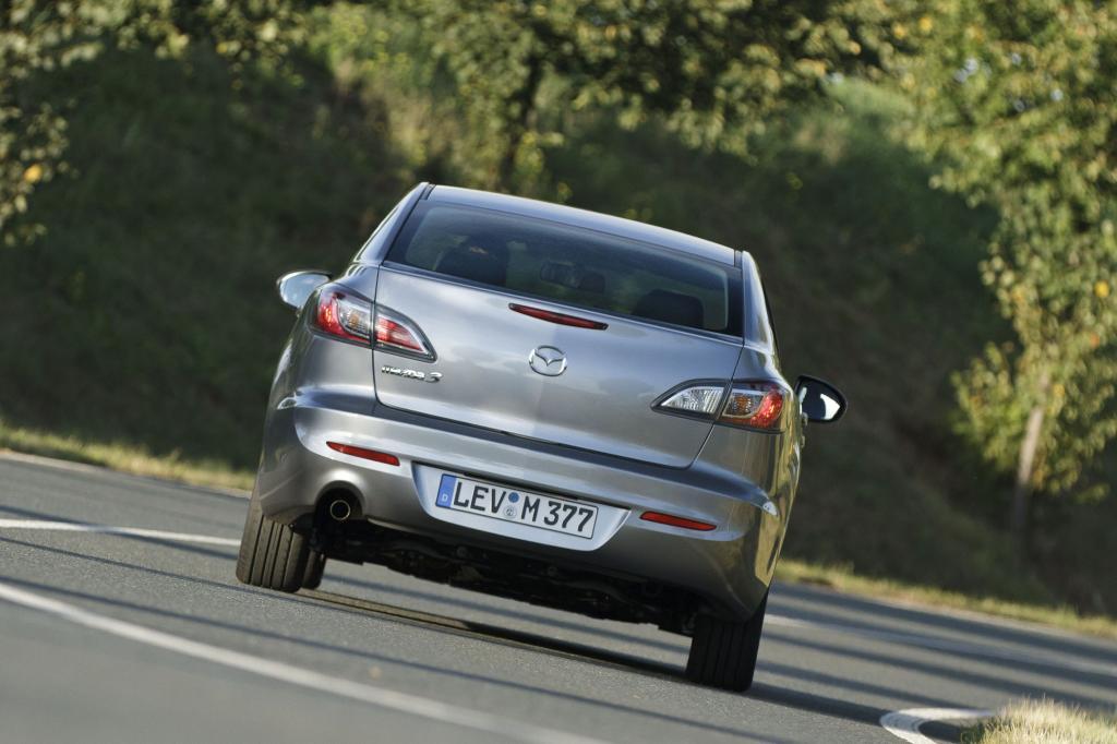 In Sachen Kurvendynamik, Geradeauslauf und Fahrstabilität kann sich der Mazda3 sehen lassen