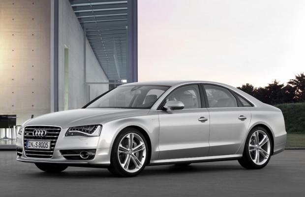 Je nach Bedarf acht oder vier Zylinder: Audis neuer S8 kommt im Frühsommer