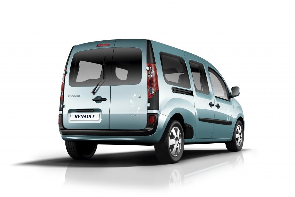 Kangoo Z.E.: Renault bringt Elektro-Lastesel an den Start