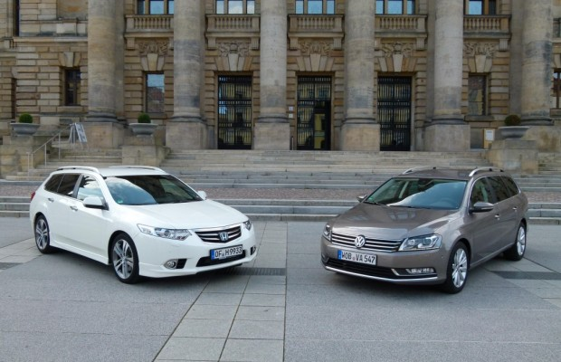 Kombi-Duell: VW Passat Variant vs. Honda Accord Tourer