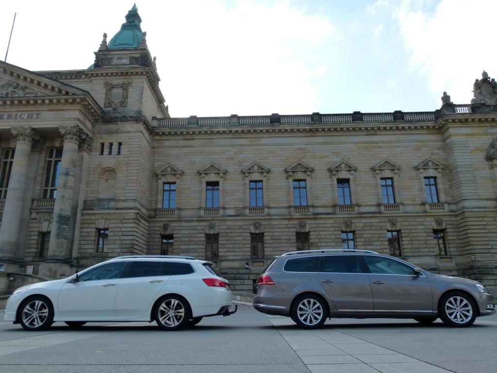 Kombi-Duell: VW Passat Variant vs. Honda Accord Tourer