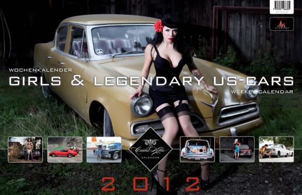 "Kunst mit Kurven – ""Girls & Legendary US-Cars"" Kalender 2012"