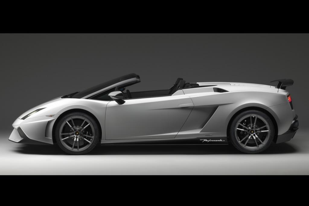 Lamborghini Gallardo LP 570-4 Spyder Performante - Leicht ums Herz