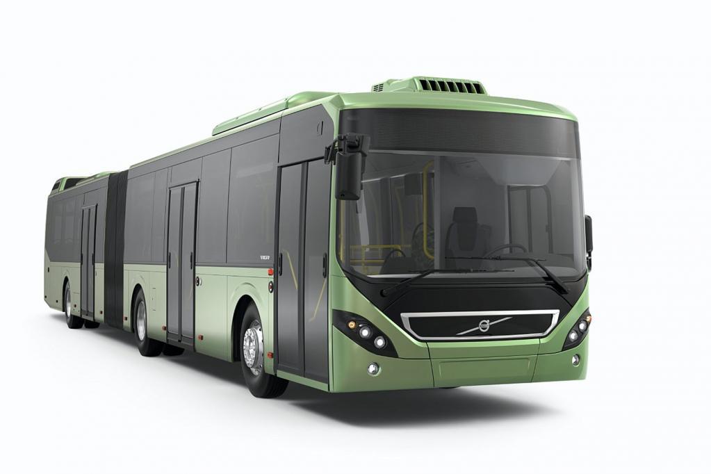 Leichter und sparsamer: Volvo-Bus 7900
