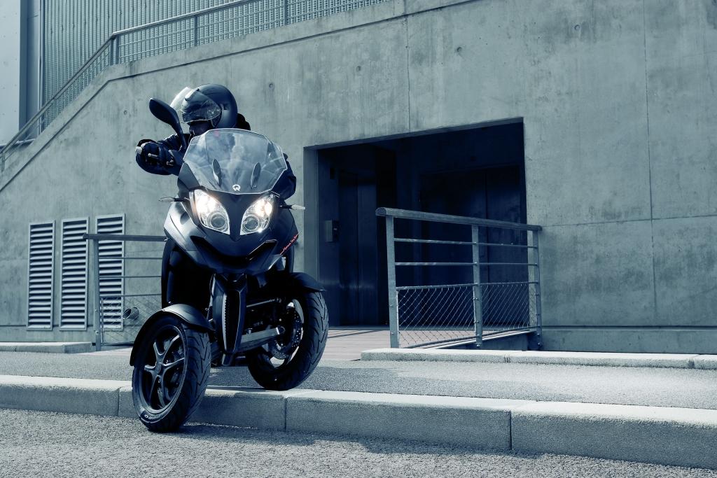 MSA nimmt dreirädrigen Motorroller Quadro 350 D ins Programm
