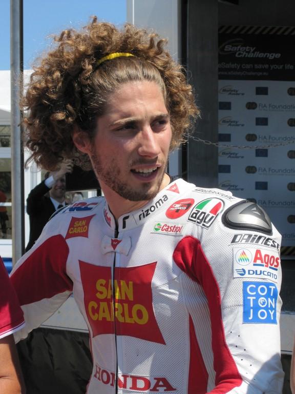Marco Simoncelli stirbt bei Motorrad-Grand-Prix